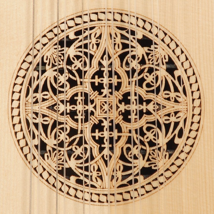 Music house princetravel lute 8 course lacewood -99