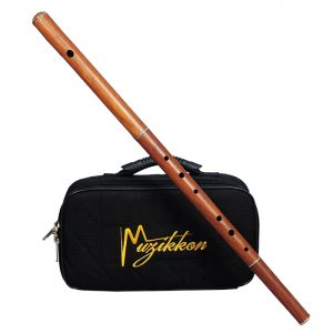 Irish flute D tune rosewood without tuning slide with a nylon case-0