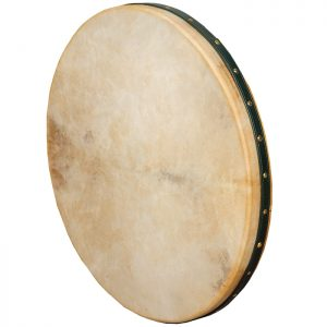 Frame Drum 22 inch Intune Mulberry Green Strap-0