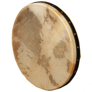 Music House Prince Frame Drum 16 inch Intune Mulberry Black Strap-0