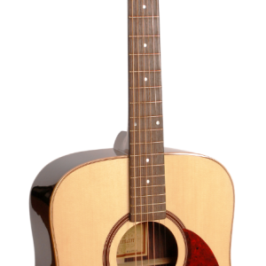 Freshman FA400D Dreadnought Acoustic Guitar, Natural with Case-0