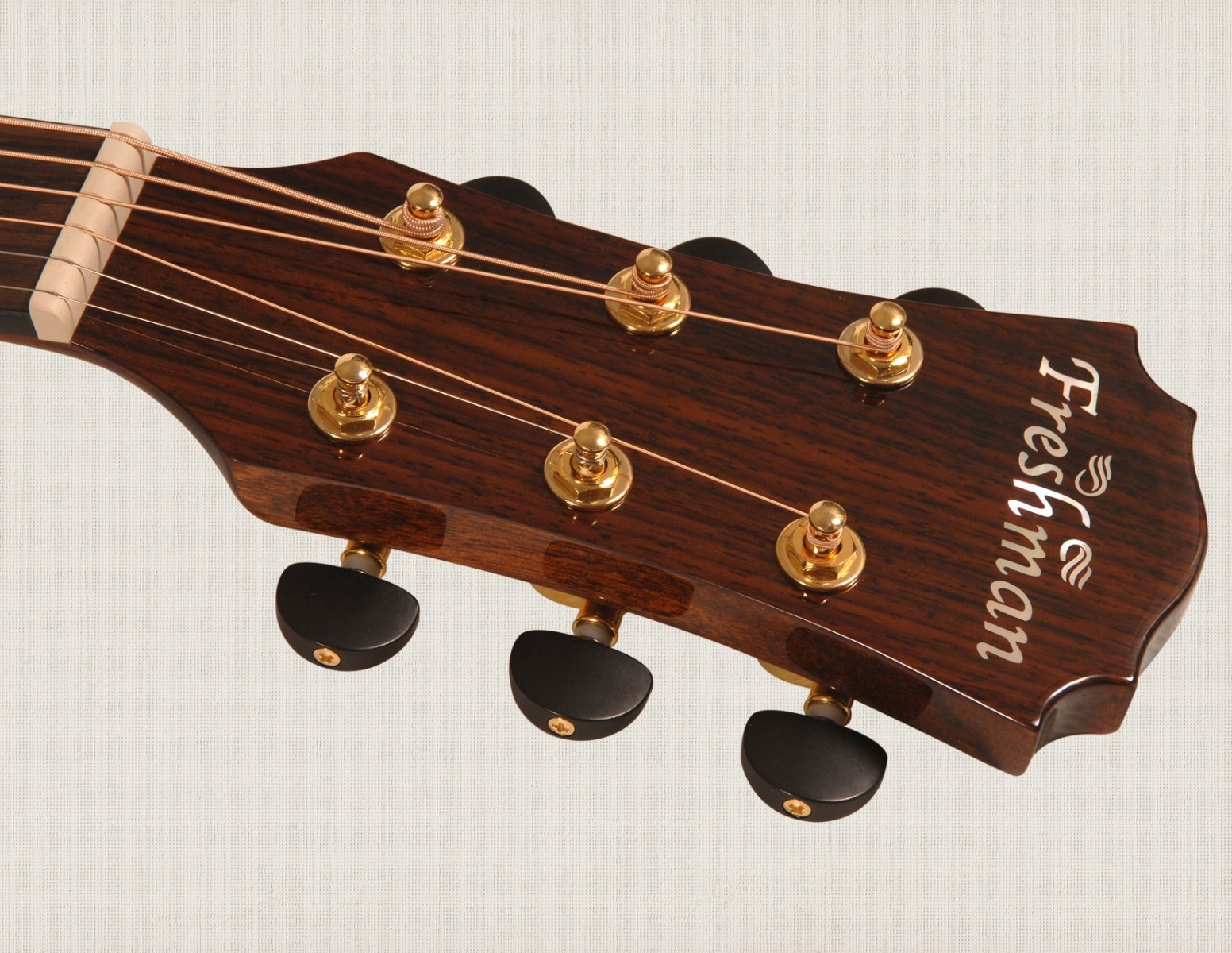 Freshman fa400d dreadnought acoustic guitar, natural with case-1121
